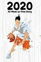 2020 A5 Week to View Diary: 6' x 9' | 52 Pages - Basketball  BOOK(PAPERBACK)