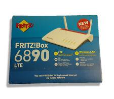 FRITZ!Box 6890 LTE - DSL- und LTE-Modem - WLAN-Router - rot-weiß