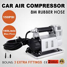 AIR PRO FLOW 12 VOLT 12V AIR COMPRESSOR INFLATOR TIRE TYRE CAR 4WD 4X4 DUTY