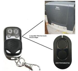 Remote Control Compatible with DITEC Entrematic Sliding Gate Motors zen 2 zen 4