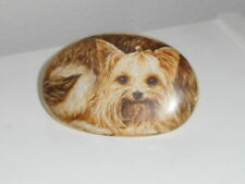 Yorkshire Terrier Paperweight Faux Rock So Cute Yorkie