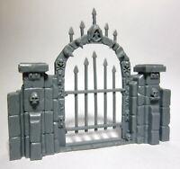 1x PORTE CIMETIERE - BONES REAPER miniature figurine rpg graveyard gate 77527