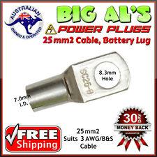10 x 25-8 25mm2-8mm Dual Battery Auto Automotive Cable Lug Connector Crimp 3B&S