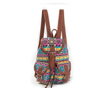 Vintage Canvas Small High Quality Women Backpack