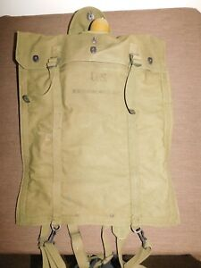 VINTAGE 1945 WWII US ARMY SOLDIER EQUIPMENT 5 GALLON DRINKING WATER BAG