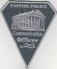 """Capitol Police Communication Officer 4"""" x 5"""" Vintage Collecting Only"""