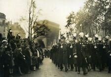 France Paris Armistice Day Parade Saint Cyr Cyriens Old Meurisse Photo 1929