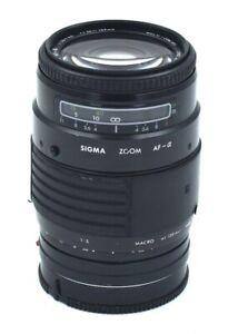 SIGMA ZOOM AF-a 1:3.5 ~ 4.5,  f=35 ~135mm MINOLTA AF & SONY A Mount Lens