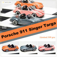 Timothy & Pierre Porsche 911 964 Singer Targa 1:64 Scale Car Model Collectibles