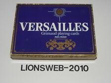 Spielkarten Grimaud playing cards Versailles - France