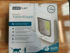 SureFlap Cat Flap with Microchip Identification, White, 21 x 21 cm