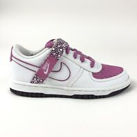 Nike Vandal Low Cool Rose Shoes Youth 3.5 Womens 5 Retro Strap 315419-113