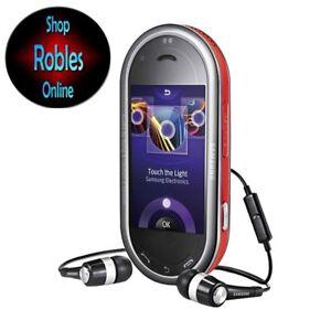 Samsung GT M7600 DJ Orange (Ohne Simlock) 3G 3,2MP RADIO 3G Touch GPS NEU OVP