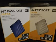 Western Digital My Passport ULTRA 2TB Portable External HDD -  (ONE)