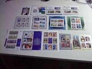 COOK ISLANDS Stamps MINI SHEET OG Never Hinged Lot Collection #1