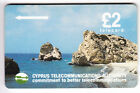 EUROPE TELECARTE / PHONECARD .. ILE CHYPRE 2£ GPT 14CYPB N/GRIS NOTCHED