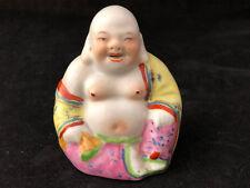 BOUDDHA ANCIEN PORCELAINE CHINOISE ANTIQUE CHINESE PORCELAIN BUDDHA