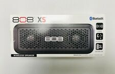 808 Audio XS Wireless Bluetooth Stereo Speaker Black
