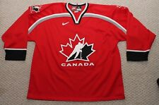 Nike Team Canada Hockey Jersey - Mens XL - #00 BRAKE - Red Vintage 90's 2000's