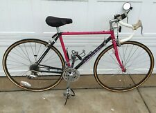 1990's Bianchi Road Bike 21 Speed Tange Cromo Pink Double Butted SuperSet II