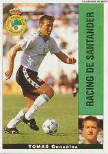 TOMAS GONZALEZ ESPANA RC.SANTANDER STICKER LIGA 95-96 PANINI