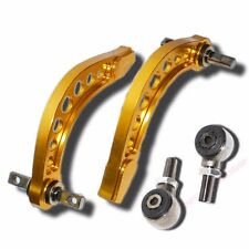 GOLD REAR ADJ CAMBER Control ARM KIT EMUSA 06-13 HONDA CIVIC FA FG JDM