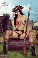 Grimm Fairy Tales Realm War Age Of Darkness #9 1/100 VIP Topless Exclusive NM @@