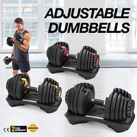 Select Tech 552 Adjustable Dumbbells Syncs SelectTech 1090 Adjustable Dumbbell