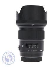 Sigma 50mm f/1.4 DG HSM Art Lens for Canon EF - UK MODEL