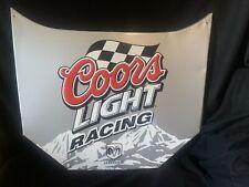 New listing Rare 2004 Nascar Coors Light Racing Dodge Hood