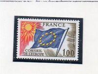 Francia Banderas Consejo de Europa Serie del año 1976 (DN-296)
