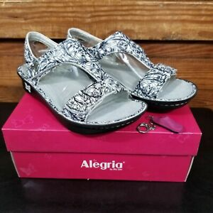 NEW Alegria Kendra Leather Slingback Sandals Size 40 US 9.5 10 Vineland Ken-769