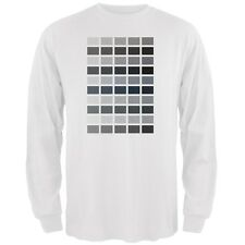 Valentine's Day - 50 Shades of Grey White Adult Long Sleeve T-Shirt
