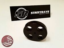 StreetRays [SR] Solid Steering Shaft Bushing For Nissan 240SX S13 S14 (BLACK)