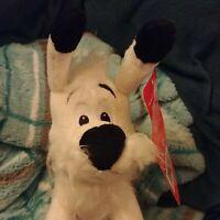 Asterix & Obelix Dogmatix Dog Puppy Plush BNWT