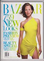 Harper's Bazaar Mag Christy Turlington 759 New Looks June 2002 012420nonr