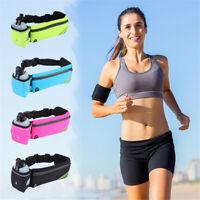 Hydration Belt Bum Bag Outdoor Sport Running Jogging Waist Water Bottle Holder