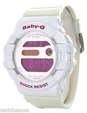Casio Baby-G G-LIDE White Resin Shock Resist Lady's Watch BGD-140-7B