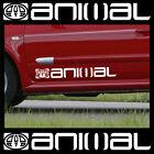 2 x Animal Logo Car Graphic Sticker Decals Vinyl Camper Van Surf Adhesive