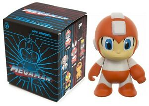 Megaman Kidrobot Mini Series Metallic Red Figure
