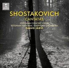 Paavo Jarvi - Shostakovich: Cantatas Song of the Forests [CD]