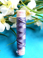 "253B Superb Coil Drawstring Silk Gutermann "" Violet "" No. 631"