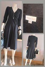 PHASE EIGHT UK 12 Grey Wrap Style Dress
