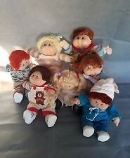 Lot of 7 Vintage Cabbage Patch Kids Dolls  Xavier Roberts