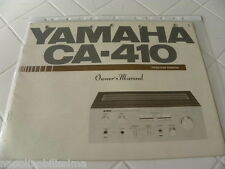 Yamaha CA-410 Owner's Manual  Operating Instructions  New