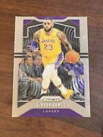 2019-20 Panini Prizm #129 Lebron James Lakers