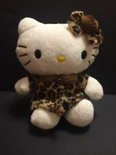 Nakajima Hello Kitty Leopard Winter Coat Plush Stuffed Animal Sanrio 2005 HTF