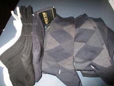 GOLD TOE NWT Lot Of 10 Pair Cotton Socks grays, blacks,tan (lot 2)