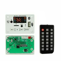 12V Bluetooth 5.0 Decoder MP3/WMA/WAV/FLAC/APE Audio Decoding w/ Recording