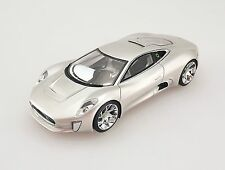 1:43 Jaguar C-X75 Concept Car 2010 Century Dragon High-end Resin Model Silver